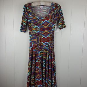 LuLaRoe Nicole Dress xs